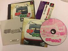 JPN JAPANESE IMPORT PS1 PLAYSTATION 1 GAME Densya De Go! 2 / By Train 2 NTSC-J