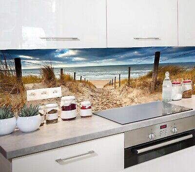 Küchenrückwand am Meer SP531 AcrylGlas  Badfliese Spritzschutz Fliesenspiegel