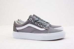 Image is loading VN08G1R1I-Vans-Women-Old-Skool-Satin-Lux-gray d1db50c6d
