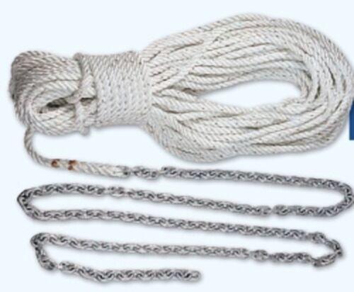 """Lewmar 5/' 1//4/"""" G4 Chain W//100/' 1//2/"""" Rope"""