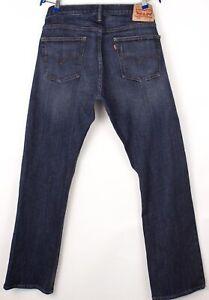 Levi's Strauss & Co Hommes 514 Droit Slim Jeans Extensible Taille W36 L34