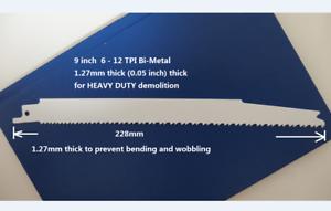 9-inch-6-12TPI-Bi-Metal-Reciprocating-Saw-Blade-HEAVY-DUTY-DEMOLITION