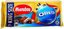 10x MARABOU OREO BISCUIT CHOCOLATE CHOKOLAD SCHOKOLADE MIT OREO KEKS 220g