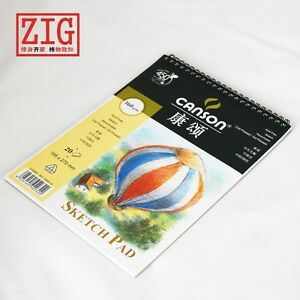 Canson Sketch Pad Wire Bound 20 Sheets 160gsm France drawing paper 2 sizes
