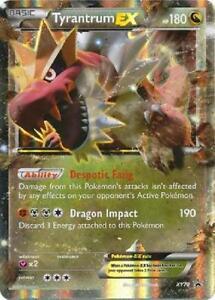 Details About Pokemon Xy70 Tyrantrum Ex Holo Rare Black Star Promo Card Mint Near Mint