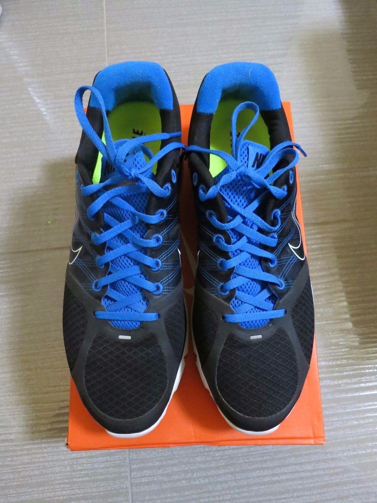 Nike lunarglide + molto 2 blu colorway dimensioni molto + raro venduto d6d04e