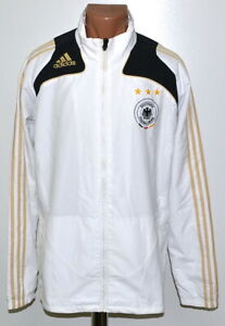 Details about GERMANY NATIONAL TEAM 20082009 TRAINING FOOTBALL JACKET JERSEY ADIDAS SIZE L