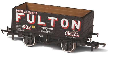 Ordinato Oxford Rail Or76mw7018 - 7 Asse Minerale Wagon Wigan Fulton 602 Calibro 00 Una Custodia Di Plastica è Compartimentata Per Lo Stoccaggio Sicuro