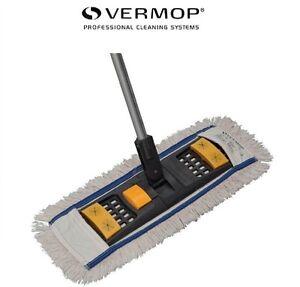 Vermop-50-cm-Wischmop-Set-Sprint-Plus-Klapphalter-1-Basic-Mop-Mopp-Wischmopp