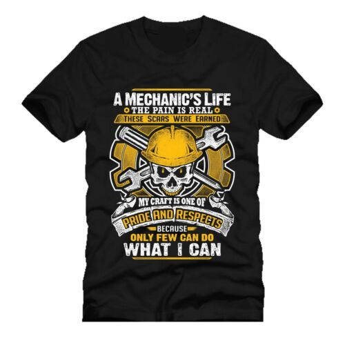 A MECHANICS LIFE  mashup dtg mens t shirt tees NEW 2018