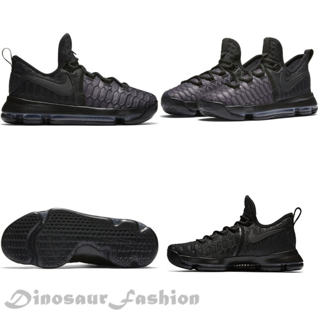 2b09f35388fd Boys Nike Zoom Kd9 Youth GS Black White Size 6y 855908 010 for sale ...