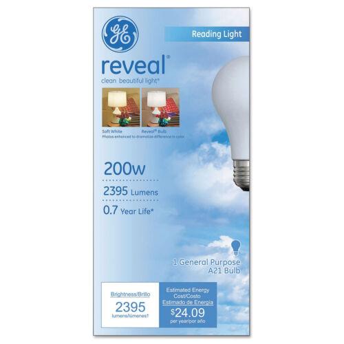 Ge Incandescent Globe Bulbs 200 Watts 89371