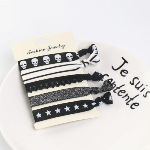 5pcs//set Elastic Baby Hairband Jewelry kids Headband Girl Hair Tips Headwears