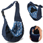 Newborn-Baby-Sling-Carrier-Infant-Ring-Wrap-Soft-Nursing-Pouch-Front thumbnail 1