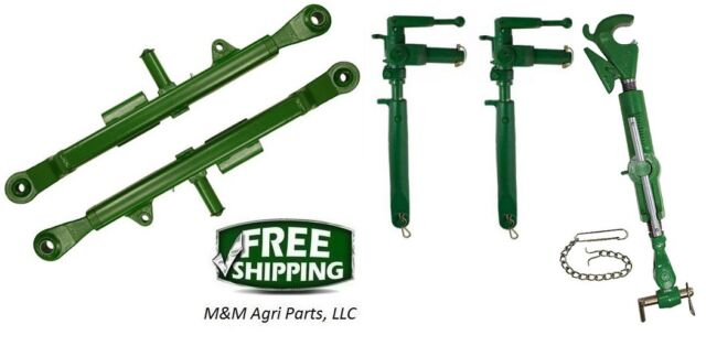 3 Point Hitch - Top link, Lift Arms & Adjustable uprights - John Deere 620  630
