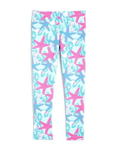 Vineyard Vines Girls Starfish /& Conch Leggings Beachcomber Blue  L//XL C6