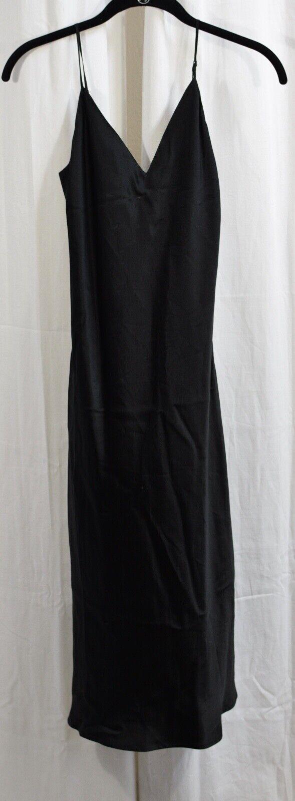 L 'Agence para mujer Vestido  de Seda Jodie Negro Talla 0  saludable