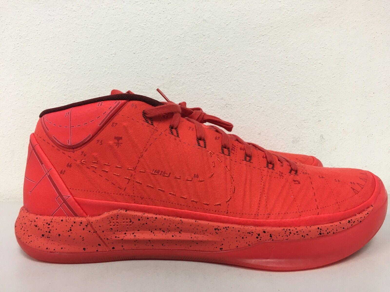 Nike Kobe AD Passion Mamba Mentality Habablack Red  Size 13.5