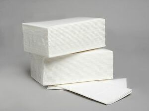 image is loading 50 luxury white airlaid paper hand towels napkins - Disposable Hand Towels