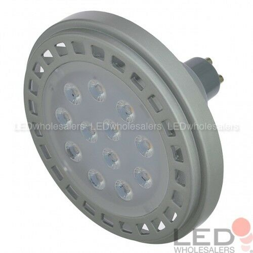 AR111 GU10 Dimmable 15W LED 30º Spot Light Bulb 6-Pack