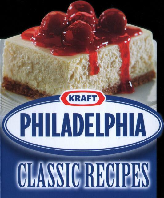 PHILADELPHIA CLASSIC RECIPES Cookbook NEW Kraft CREAM CHEESE Shaped COOKING