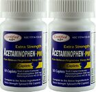 Acetaminophen PM Extra Strength Pain Reliever 500mg Generic Tylenol PM 100 Tabs
