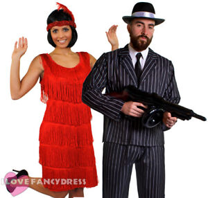 image is loading couples gangster and flapper costumes 1920 039 s