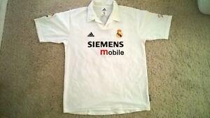 newest b232d 82aa6 Details about Zinedine Zidane Real Madrid #5 jersey Size L