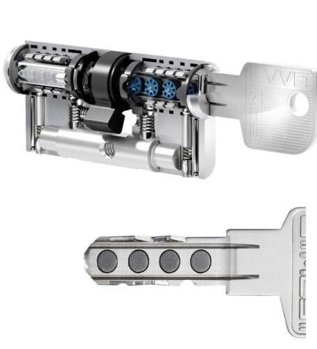 EVVA MCS Magnet Technology Locking Cylinder System Double