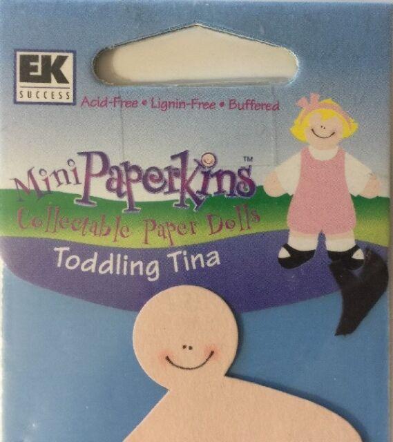 9pc EK Success•Baby Boy •Crib•• ROCK-A-BYE RICHIE MINI Paperkins Paper Dolls Set