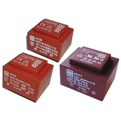 Vigortronix VTX-121-3015-412 Encapsulated PCB Transformer 115V+115V 1.5VA 0-12V