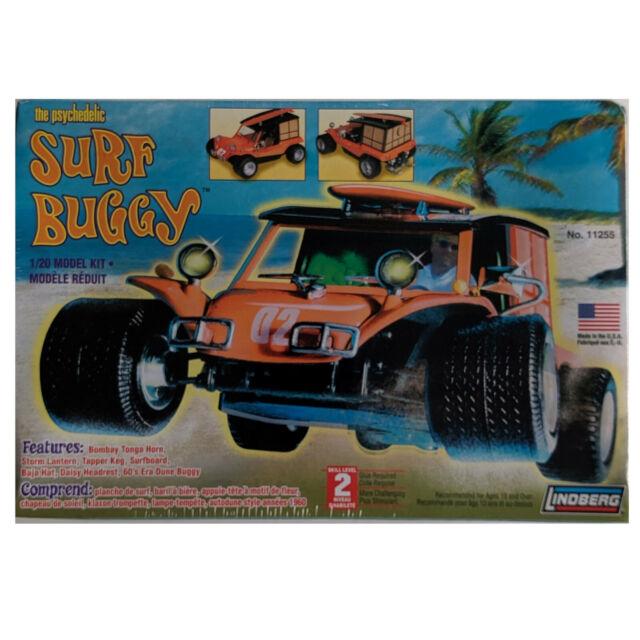 The Psychedelic Surf Buggy, LINDBERg 1/20 model kit