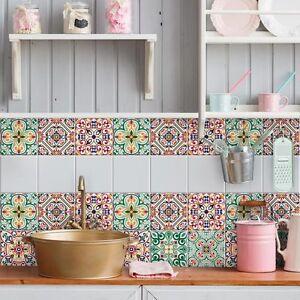 Ps00125 adesivi murali in pvc per piastrelle per bagno e - Adesivi per piastrelle cucina ...