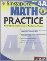 Singapore Math Practice, Level 4a, Grade 5 By , (paperback), Frank Schaffer Publ