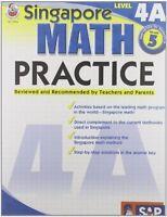 Singapore Math Practice, Level 4a, Grade 5 By , (paperback), Frank Schaffer Publ