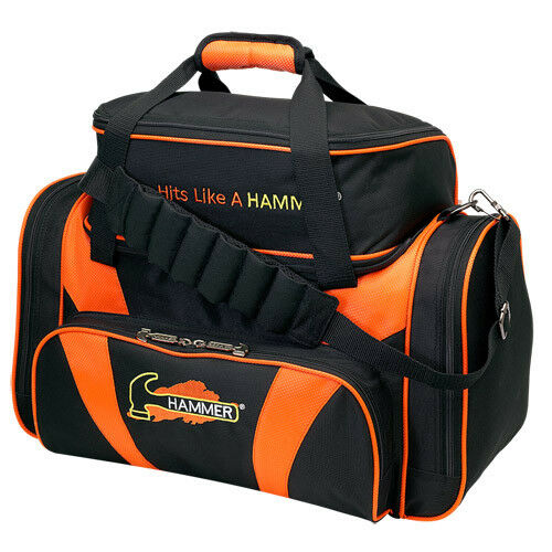 Hammer Bowling Double Tote w shoes 2-Ball Bowling Ball Bag - Free Shipping
