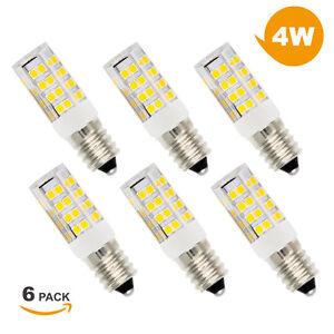 Petite-Ampoule-a-LED-E14-4W-Remplace-Ampoule-CFL-40W-Blanc-Chaud-Lot-de-6-ou-12