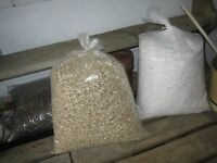 Seed Starting 2-gallons Of Each Medium Vermiculite & Coarse Perlite