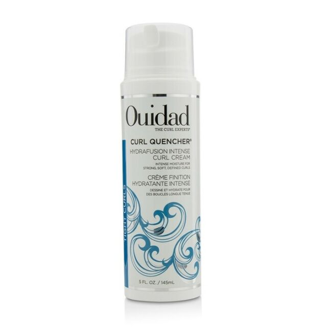 NEW Ouidad Curl Quencher Hydrafusion Intense Curl Cream (Tight Curls) 145ml Mens