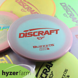 Details about Discraft ESP BUZZZ OS *pick a color and weight* Hyzer Farm  disc golf mid range