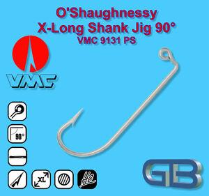 VMC-O-Shaugnessy-X-Long-Shank-Jig-90-Haken-9131-PS-Bleigussform-Jigkoepfe-giessen