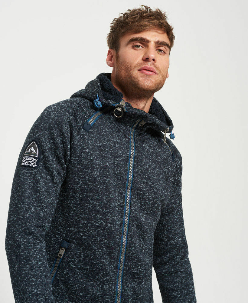 SWEAT SUPERDRY MODELE EXPEDITION ZIPHOOD Black grit Achat