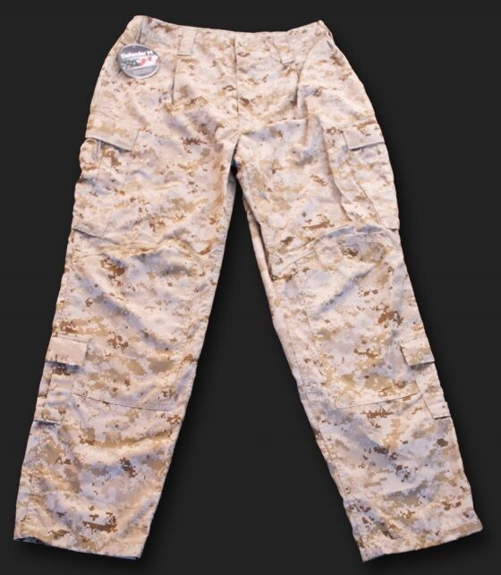 US Marines Corps USMC Army MARPAT Desert Frog Pants pantalones tamaño ml Medium Long