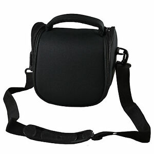 Camera-Case-Bag-for-Sony-Cyber-shot-DSC-H300-HX400VB-Bridge-Camera-Black