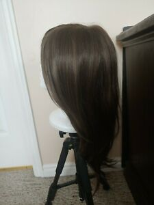 Godiva's Secret Wigs - Shayna in Medium Brown -  Monofilament Top - Retired