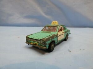 Vintage-Dinky-Toys-N-270-Ford-Escort-Cruiser-Vehiculo-Coche-de-Policia-Juguete-Diecast