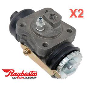 2 Drum Brake Wheel Cylinders REAR L /& R RAYBESTOS
