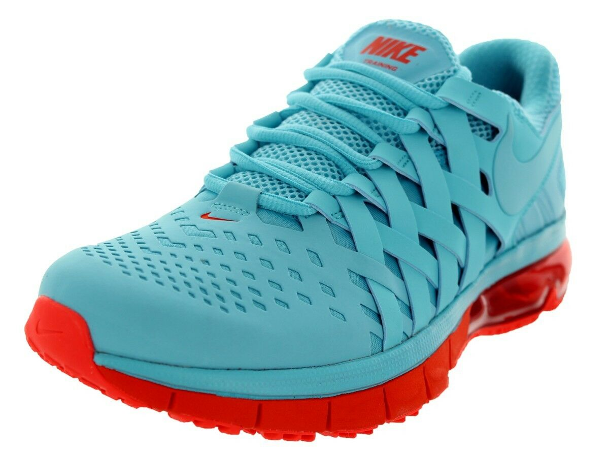 NIKE FINGERTRAP MAX NRG PEARLIZED BLUE TOTAL CRIMSON RUNNING SNEAKERS SHOES