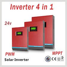 Inversor Onda Pura Hibrido 3000VA 24V MPPT 60A Convertidor onda pura 3 EN 1