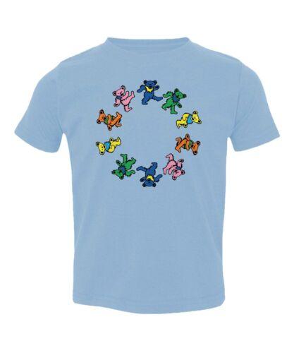 Greatful Grateful Dead Bear Toddler T-Shirt